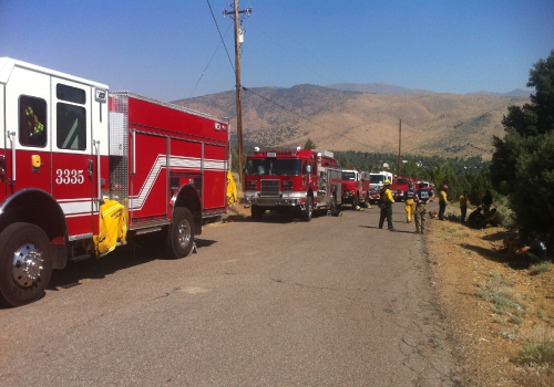 Mutual aid requests in Mono County
