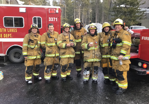 Firefighter academy program by the Mammoth Lakes Fire Department
